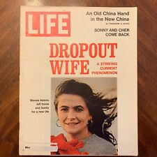 LIFE Magazine ~ March 17 1972~ Dropout Wife~ Cher Becoming Sex Symbol ~ Ads (10)