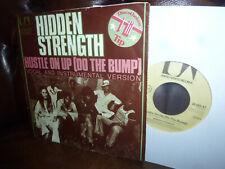 "Hidden Strenght, Hustle on up (do The Bump) Funk, German UA 36085 Single 7"" 1975"