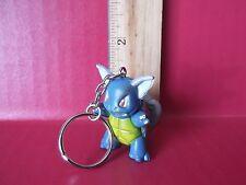 "Pokemon 1.75""in  Wartotle Super Cute & Very Collectible PVC Key Chain"