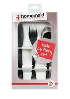 HOMEMAID CUTLERY SET KNIFE FORK SPOON STAINLESS STEEL KIDS BABY CHILDREN