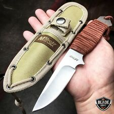 """8"""" MTECH Military SURVIVAL Tactical Fixed Blade Hunting Camping Knife + Sheath"""