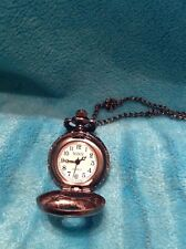 Small Mini Igny Ladies Pocket Watch Or Necklace Needs Battery Or Fixed