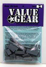 1/56 - 28mm Universal Tent Tarp & Crate Set #2 - ValueGear- Bolt Action War Game