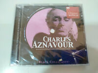 Charles Aznavour Original Songs Greatest Hits Black Collection - CD Nuevo