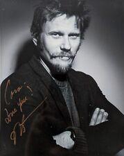 Mark Pellegrino Supernatural Being Human Autograph Asylum 8x10 Signed