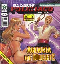 *EL LIBRO POLICIACO* AGENCIA DE MUERTE- MEXICAN COMIC ~>SEXY<~ #1227