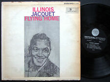 ILLINOIS JACQUET Flying Home LP IMPERIAL LP-12184 JAZZ STEREO