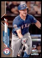2020 Topps Series 2 Base Gold #437 Scott Heineman /2020 - Texas Rangers