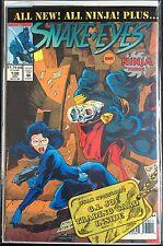G.I. Joe #187 Snake Eyes Ninja Force VF 1st Print Free UK P&P Marvel Comics
