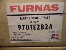 FURNAS 970TE2B2A ELECTRONIC TIMER 240V NEW IN BOX NOS