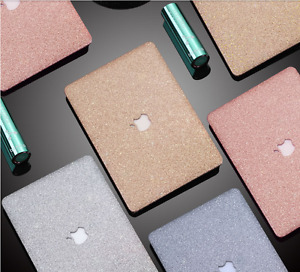 """Leather Bling Shiny Artificial Hard Case Cover for MacBook Air Pro 11 12 13 15 """""""