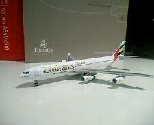 Gemini Jets GJUAE1284 Emirates 1/400 scale Airbus A340-300 A6-ERM model plane