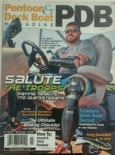 Pontoon & Deck Boat Magazine Jul 2016 Salute The Troops Veteran FREE SHIPPING sb
