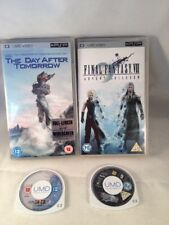 2x SONY PSP UMD DVD, VIDEO - THE DAY AFTER TOMORROW - FINAL FANTASY VII