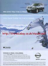 Nissan X-Trail Columbia 2006 Magazine Advert #2340