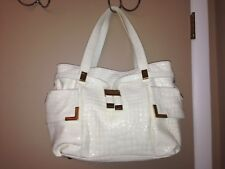 MICHAEL KORS LADIES WHITE PURSE/HANDBAG.