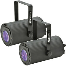 2x - 46 LED Mini RBG Disco Party Can Light – Sound Activated DMX Beam Projector