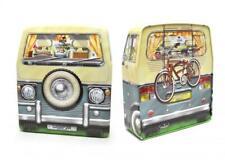 Blechdose Gebäckdose Vorratsdose Camping Bus Surf Camper,20 cm Schmuckdose Hot