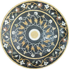 Round Medallion Pool Floor Carpet Art Mix Home Decor Wall Marble Mosaic FL498