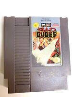Bad Dudes ORIGINAL NINTENDO NES Game Tested + Working & Authentic!