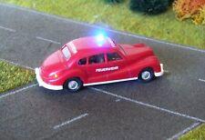 H0 Modellautos Wiking BMW FW-Einsatzleitung m. 1 blink. Blaulicht, Beleuchtung