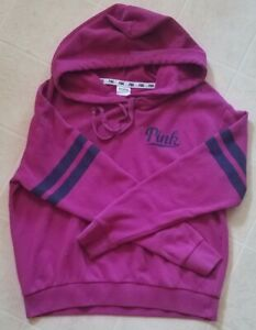 """Victoria Secret """"Pink"""" Hooded Pullover sz. Small"""
