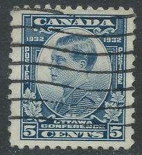 Canada #193(1) 1932 5 cent blue Prince of Wales (Edward) Used CV$4.00