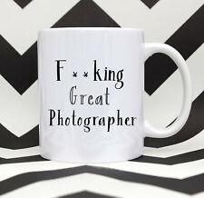 Fcking Great Photographer Coffee Mug Photographer  Gift Photographer Tea Mug