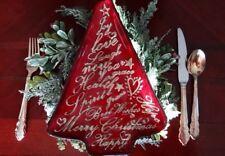 Christmas Tree Theme Decor Plates Set Of 4