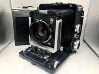 ✈FedEx 【Nr MINT】Wista 45D Large Format Camera w/NIKKOR W 180mm f5.6 From Japan