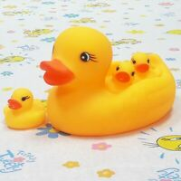 Yellow Classic Rubber Duck Family Baby Shower Birthday Favor Bath Swimming Toy