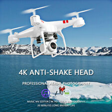 Drone X12 2.4G 6CH wifi FPV with 4K HD camera Foldable RC Quadcopter Gift US