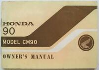 Honda 90 Model CM90 1967 #'67 10 Y-C 500 Motorcycle Owners Handbook