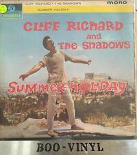 CLIFF RICHARD - SUMMER HOLIDAY LP ORIG 1963 COLUMBIA  33SX 1472  1-1N Vg Con