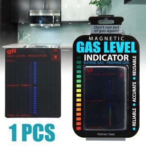 Magnetic Gauge Caravan Bottles Propane Butane-LPG Fuel Gas Tank Level Indicator