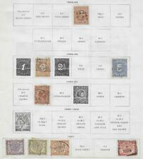 8 Dutch Indies Stamps from Quality Old Album 1864-1901