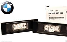 2 X Genuine BMW LED Licence Number Plate Light Lamp E63 E81 E87 F06 F12 F20 K48