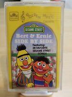 Vintage SESAME STREET BERT & ERNIE SIDE BY SIDE Cassette Tape By Golden Music