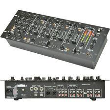 Tables de mixage pour équipements audio et vidéo professionnels avec 4 canaux