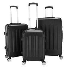 3Pcs Portable ABS Hardside Trolley Case Travel Luggage Set 20