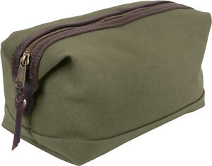 Travel Toiletry Bag Kit Case Compact Military Dopp Organizer Deluxe High Quality