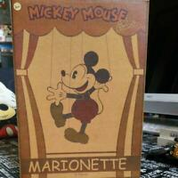 Young Epoch Mickey Mouse Marionette Wooden Doll Japan Disney