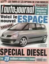 L'AUTO JOURNAL 2001 559 BMW Z3 3.0i COUPE GMC TERRADYNE LEXUS RX 300 VW LUPO GTI