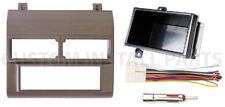 Aftermarket Single Din Stereo Radio Install Beige Dash Kit Wire Harness Adatper