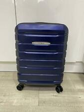Samsonite Hard Shell Cabin Suitcase in Navy Blue with USB Charging