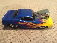 Funline 1:18 Muscle Machines Cali Too Hot Series 1969 Chevrolet Camaro Blue