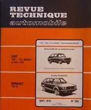 NEUVE DE STOCK !!!! Revue technique RENAULT 30 TS R 1273 essence RTA 359 1976