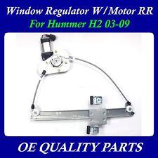 Upgraded Power Window Regulator w/Motor Rear Right for Hummer H2 03-09 15771355