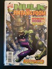 Hulk vs Fing Fang Foom 1 High Grade Marvel Comic Book CL94-155