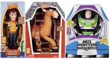 Disney Toy Story 4 TalKing Woody BUZZ & Bullseye NEW! Great Gift!